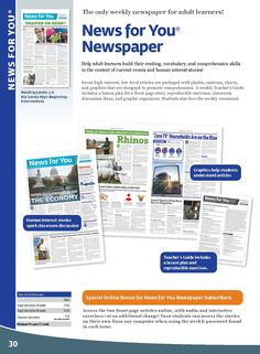 News for You Newspaper