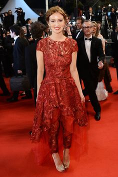 Cannes Fashion - Red Carpet Dresses at Cannes 2013 - Harpers BAZAAR