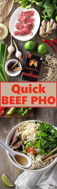 Quick Beef Pho