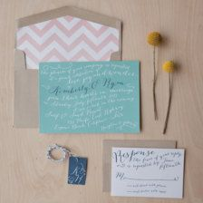 Calligraphy for Wedding Invitations, Save the Dates, & More