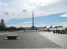 Park Pobedy Victory Monument. By ocmpoma from Flickr.com