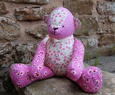 FREE McCalls Pattern: Patchwork Teddy Bear