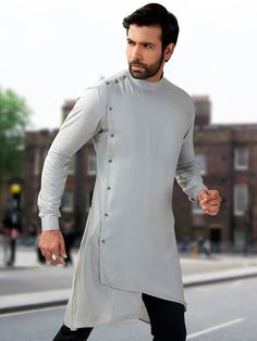 Mens Short Pathani Buy Mens Wedding & Party wear short pathani kurta at discounted prices. Exclusive Short pathani collection of Linen short pathani kurta, Cotton Short Pathani, Silk fabric short pathani. Mens Indian Wear, Mens Ethnic Wear, Indian Groom Wear, Indian Men Fashion, Mens Fashion Suits, Kurta Pajama Men, Kurta Men, Mens Sherwani, Pathani Kurta