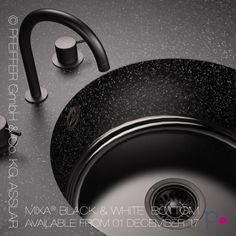 MIXA® Küchenspüle, Nahtlos Integriert In Mineralwerkstoff Arbeitsplatte.  Katalog: Www.pfeiffer