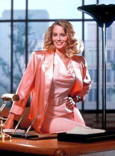 "Cybill Shepherd - ""Moonlighting"" (TV 1985-1988) - Costume designer : Robert Turturice"
