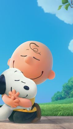 SNOOPY AND CHARLIE BROWN IPHONE WALLPAPER BACKGROUND IPHONE