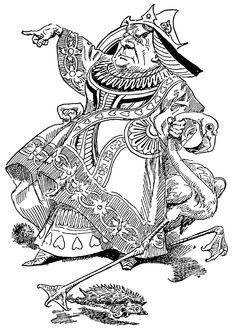 alice red queen tenniel illustrations frankenstein