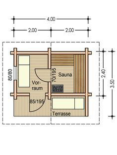 House plans with sauna