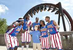 The Harlem Globetrotters are joining us for Star-Spangled Summer at #SilverDollarCity! #StarSpangledSummer #Branson #2015