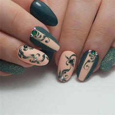 elegant almond matte nails design ideas; almond acrylic nails; spring nails; matte nails design; long sqaure matte nails #mattenails #almondnails #nailsdesign