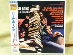 CD/Japan- THE BEACH BOYS Stack-O-Tracks w/OBI RARE MINI-LP TOCP-50863 inst. #PopRock