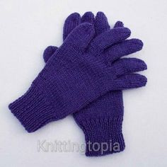 Hand knitted children's gloves in purple - winter gloves - full fingered gloves - classic gloves - winter accessories Knitted in a rich purple yarn these children's gloves are perfect for girl or boy. Add a touch of colour to your childs winter wardrob. Knitted Baby Cardigan, Knitted Baby Clothes, Knitted Gloves, Wooly Hats, Baby Boy Blankets, Special Needs Kids, Kids Hands, Winter Accessories, Baby Month By Month