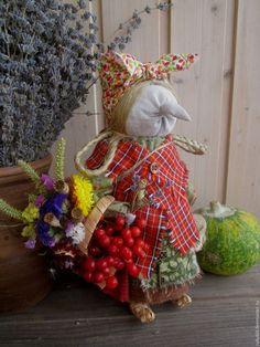Народные куклы ручной работы. Ярмарка Мастеров - ручная работа. Купить Ягишна. Handmade. Комбинированный, кукла ручной работы, сухоцветы