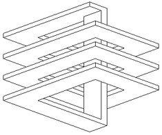 Черно-белые фигуры [581-590] - Невозможный мир