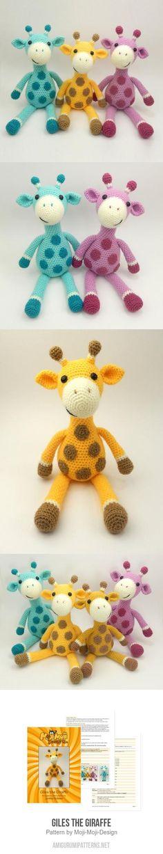 Giles The Giraffe Amigurumi Pattern