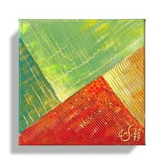 Mini Acrylic Painting on Canvas Original Abstract Art Modern Wall Decor for Home Colourful Artwork Contemporary wall Art Contemporary Wall Art, Modern Wall Decor, Your Paintings, Original Paintings, Art Journal Pages, Art Journaling, Art And Hobby, Get Well Soon Gifts, Colorful Artwork