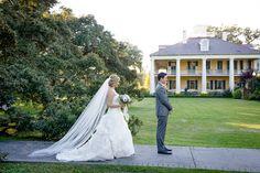 first look | Mark Eric #wedding