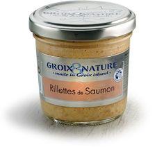 Rillettes de Saumon - GROIX et NATURE