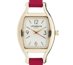 Just in time for spring and summer .... a new watch from Liz Claiborne New York!