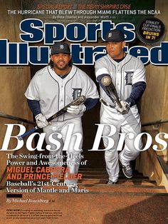 This is my absolute FAVORITE Sports Illustrated cover! :)