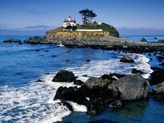 Point Lighthouse Crescent City California