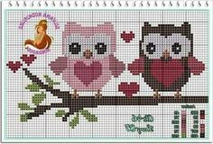 Cross Stitch Owl, Butterfly Cross Stitch, Cross Stitch Charts, Cross Stitching, Cross Stitch Embroidery, Hand Embroidery, Cross Stitch Patterns, C2c Crochet, Owl Patterns
