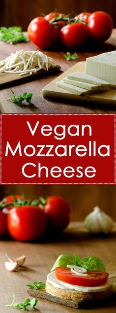 Vegan mozzarella that& healthier than store-bought and much better for you than dairy cheese. Vegan mozzarella that& healthier than store-bought and much better for you than dairy cheese. Healthy Snacks For Kids Vegan Cheese Recipes, Vegan Sauces, Vegan Foods, Vegan Dishes, Dairy Free Recipes, Raw Food Recipes, Vegetarian Recipes, Healthy Recipes, Healthy Fit