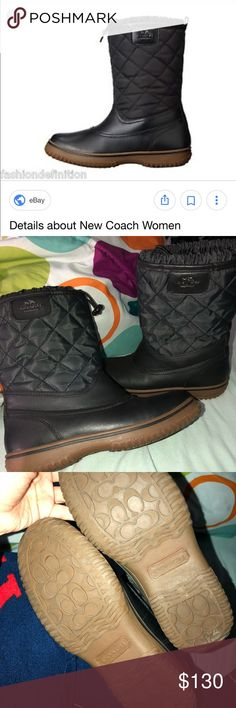 💕💕LIKE NEW Coach Boots Size 6 SAMARA boot, worn maximum of 3 times. Like new! See seller feedback!!!! Coach Shoes