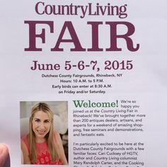 2015 Country Living Fair Brochure