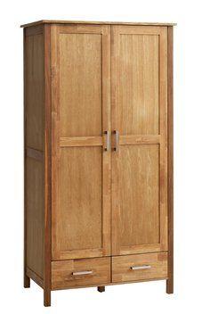 Garderobekast SILKEBORG 2 deurs eiken | JYSK