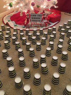 elf on shelf ideas & wlf in the shelf ; elf on the shelf ideas ; elf on the shelf arrival ; elf on the shelf ideas funny ; easy elf on the shelf ; elf on shelf ideas ; elf on the shelf goodbye ; elf on a shelf Awesome Elf On The Shelf Ideas, Elf Is Back Ideas, Elf Games, Elf Auf Dem Regal, Elf Magic, Elf On The Self, Naughty Elf, Buddy The Elf, Christmas Elf