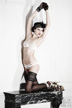 KS Paris Frühjahr/Sommer 2014 - Dessous - http://de.dentell.es/fashion/lingerie-12/l/ks-paris-4035