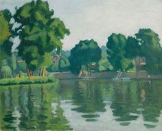 Albert Marquet - Seine à Poissy (1929)
