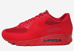 Oh so had to cop these for my centennial celebration in washington dc. nike air max 90 hyperfuse qs usa sport red.