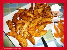 Cocina con Paco: Patatas al horno con salsa de queso, mostaza y may...