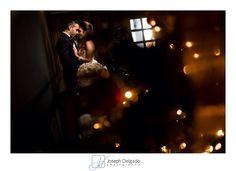 Indoor wedding portrait for this winter wedding. #NJWeddingPhotographers #WinterWeddingIdeas Photography Ideas for winter wedding.
