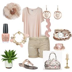 Pretty In Pink, created by cynthia-johnston-martinez on Polyvore