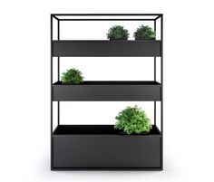 Planter Carl 1400 3 Boxes by Röshults | Flowerpots / Planters | Architonic