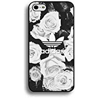 Beautiful Rose Adidas Phone Coque For IPhone 6/IPhone 6S(4.7inch),IPhone 6/IPhone 6S(4.7inch) Coque,Adidas Logo Phone Coque IPhone 6/IPhone 6S(4.7inch),Adidas Cove Coque Black