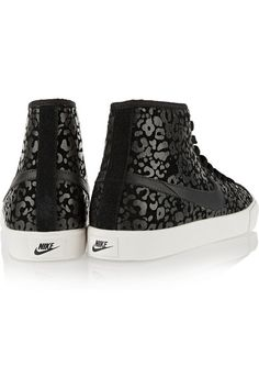 Nike | Primo Court leopard-print suede high-top sneakers | NET-A-PORTER.COM