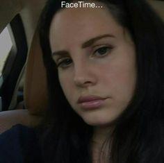 Lana Del Rey on Instagram #LDR #selfie