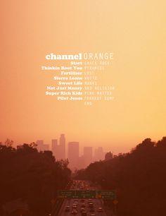 Frank Ocean --> good vibes