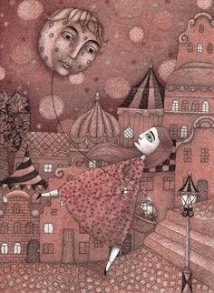 Strawberry Moon in June - Judith Clay