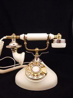 French/Brass Phone!  Swooning.
