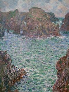 Claude Monet: Port Goulfar, Bell-Ile 1887