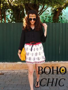 Touch of Purple: Boho chic