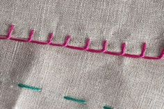 6 Pontos de Costura à Mão Passo a Passo - Artesanato Passo a Passo!