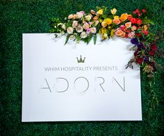 Whim Florals | Adorn | Ombre Color Scheme | 2016 Style Event | Runway Show | Whim Hospitality Presents | Whim Rentals | Sacred Oaks |