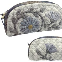Blue Marguerite Bag Kit Yoko Saito, $34.99, on quiltingfoxes.com