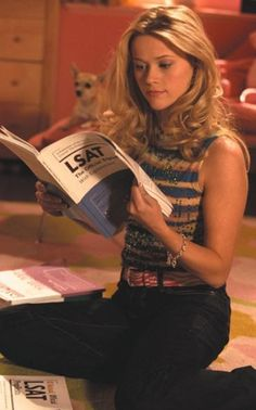 Elle Woods, my LSAT inspiration